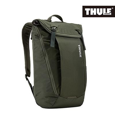 THULE-EnRoute 20L筆電後背包TEBP-315-軍綠