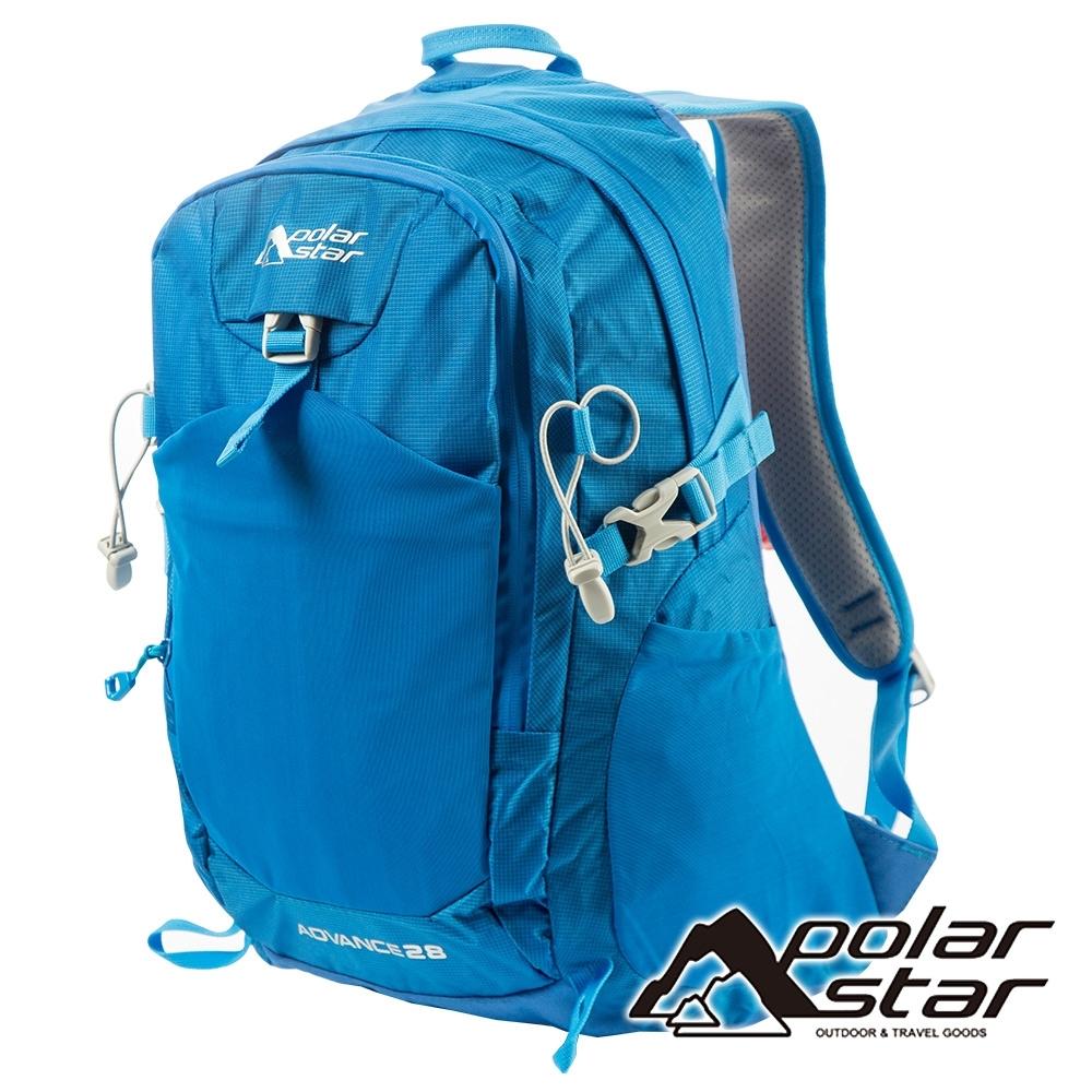 【PolarStar】透氣網架背包28L『天藍』P19803