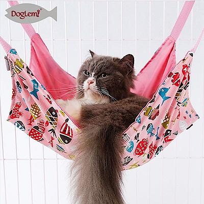 寵愛有家-兩面春夏純麻貓咪小犬掛鉤吊床(貓咪吊床)