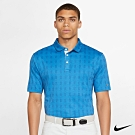 Nike Golf 男 格紋高爾夫運動POLO衫 藍 AV4193-435