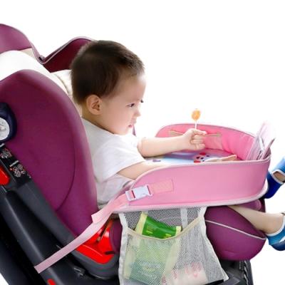 colorland 汽車安全座椅餐盤畫畫桌推車吃兒童飯桌
