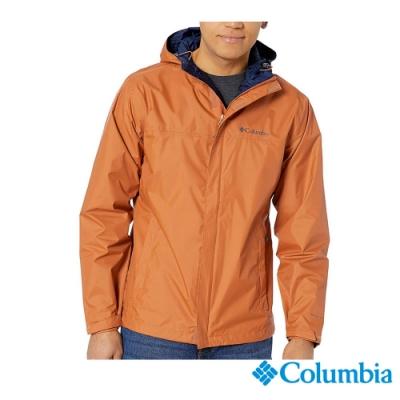 Columbia 哥倫比亞 男款- Omni TECH 防水快排外套-土黃
