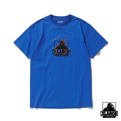 XLARGE S/S TEE RUG OG短袖T恤-藍
