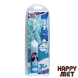 HAPPY MET 兒童教育型語音電動牙刷 (附替換刷頭X1) -企鵝款