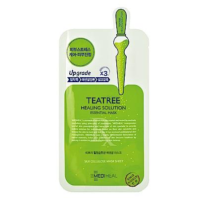 MEDIHEAL 茶樹舒緩護理保濕導入精華面膜10片(無盒)