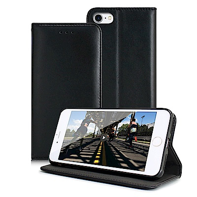 Xmat For iPhone8/ iPhone 7 4.7吋 精美好手感羊紋隱扣皮套
