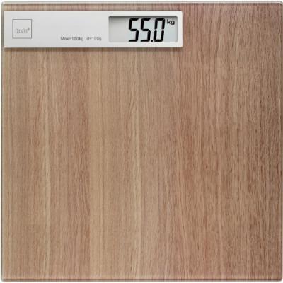 《KELA》Oak電子體重計(木紋)