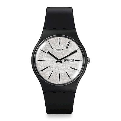 Swatch MATITA 黑夜手錶