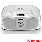 【TOSHIBA】CD/MP3/FM收音機/USB 手提音響 TY-CRU12TW