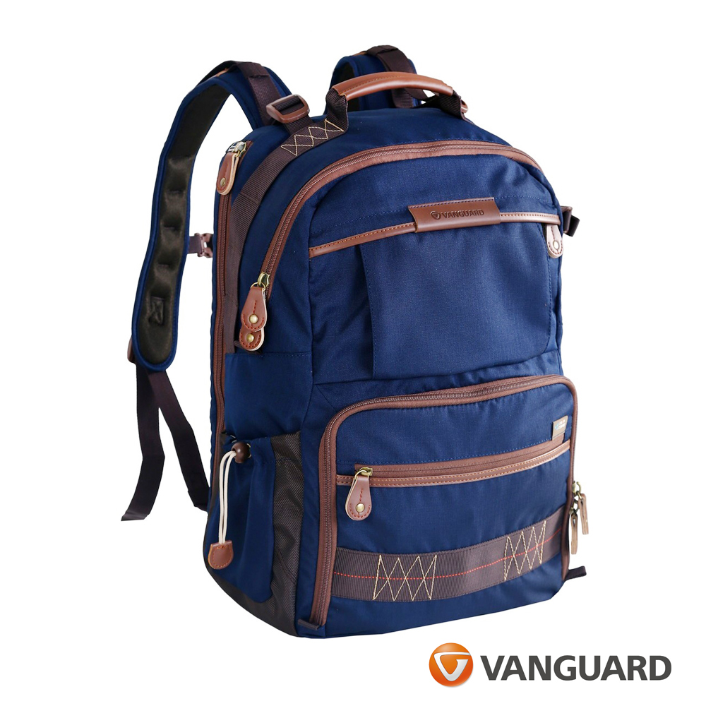 (促) VANGUARD 精嘉 Havana 哈瓦那 48 輕量攝影後背包  -藍色