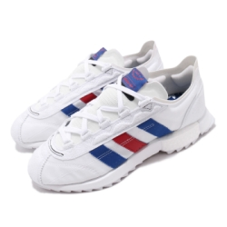 adidas 休閒鞋 SL 7600 復古 低筒 男鞋 愛迪達 磨砂革 麂皮 避震 Boost 白藍紅 FW6375