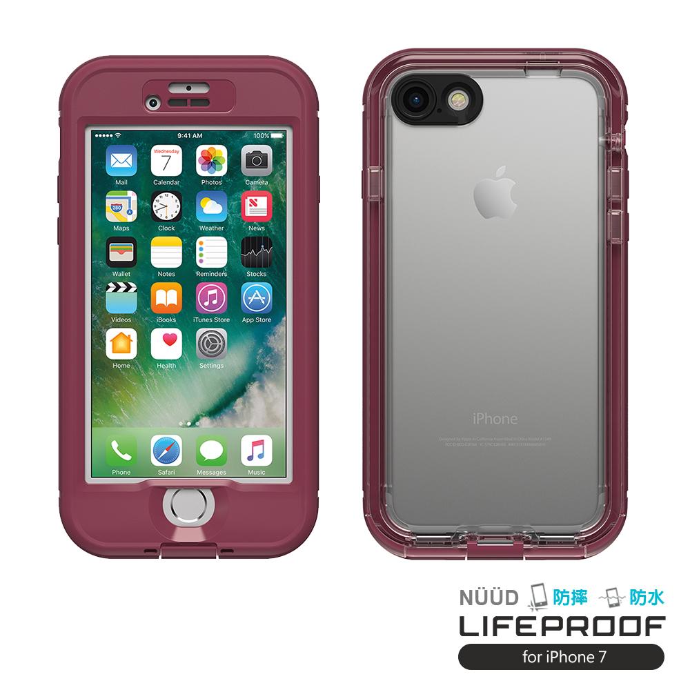 LIFEPROOF iPhone 7 專用 防水防雪防震防泥超強保護殼-簍空NUUD(紫)