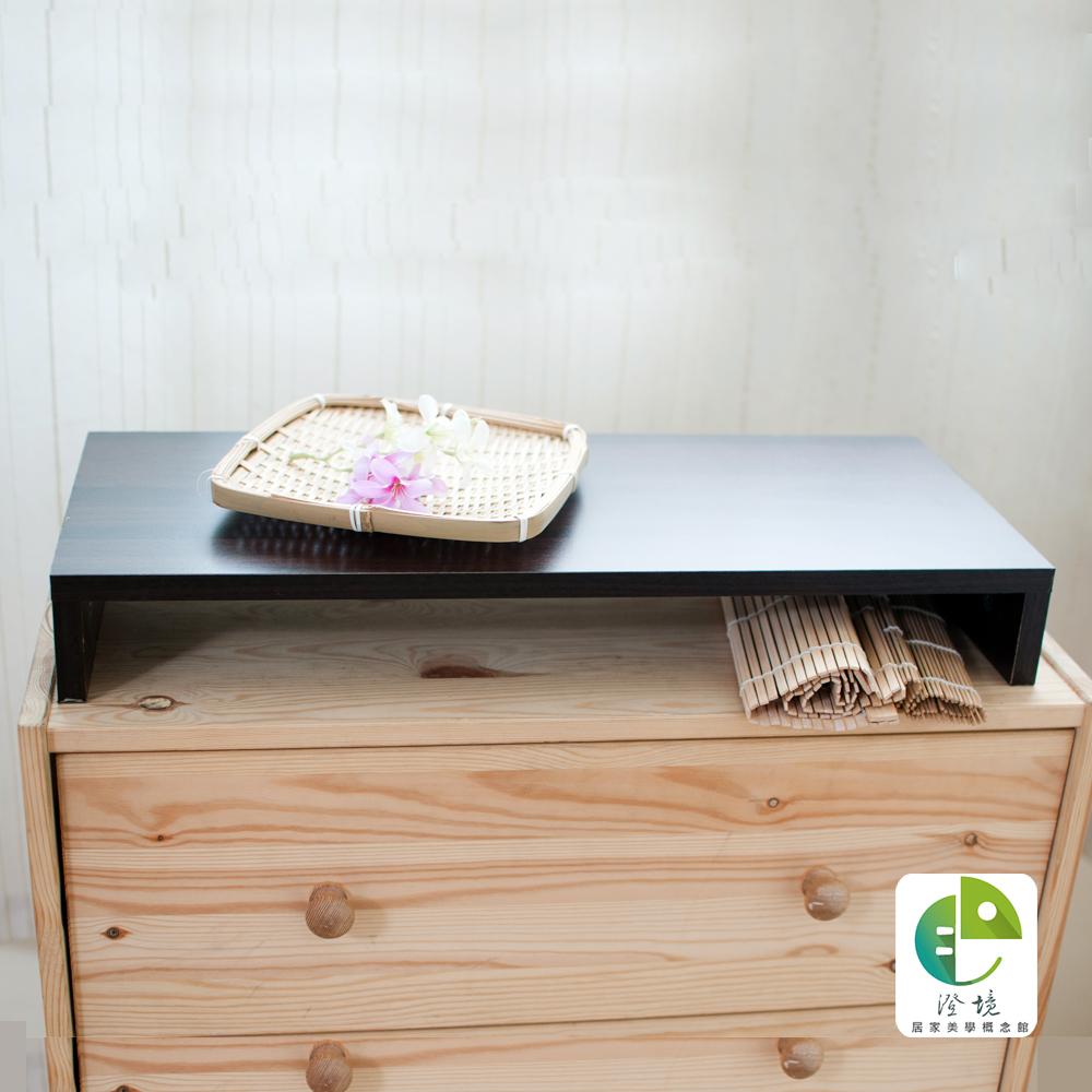 澄境 防潑水桌上螢幕置物架2入一組-胡桃-DIY