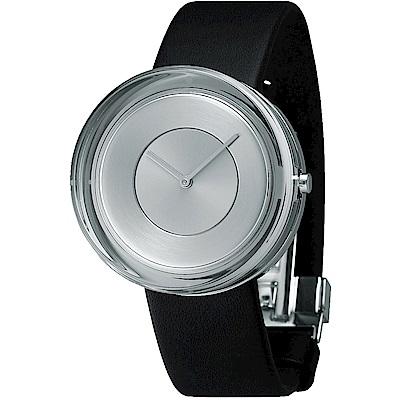 ISSEY MIYAKE 三宅一生GLASS 獨特造型手錶(NYAH001Y)-39mm