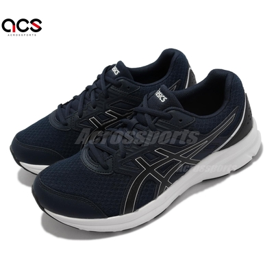 Asics 慢跑鞋 Jolt 3 4E 超寬楦 運動休閒 男鞋 亞瑟士 基本 訓練 貼合 柔軟 藍 黑 1011B041401
