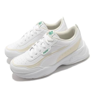 Puma 休閒鞋 Cilia Mode 復古 女鞋 厚底 舒適 老爹鞋 穿搭 球鞋 簡約 白 米 37112509