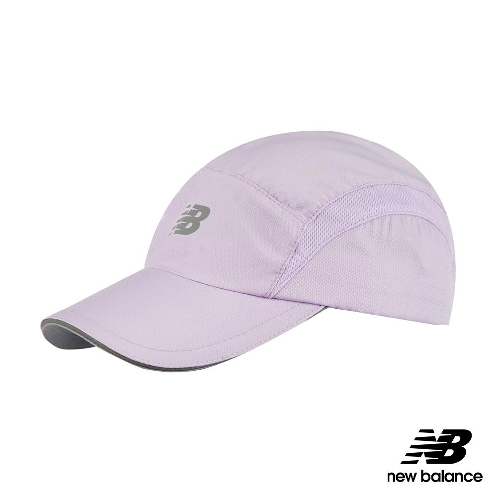 New Balance專業慢跑帽LAH91003VIG_中性淺紫