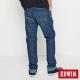 EDWIN 大尺碼中直筒 迦績褲無接縫牛仔褲-男-拔洗藍 product thumbnail 2