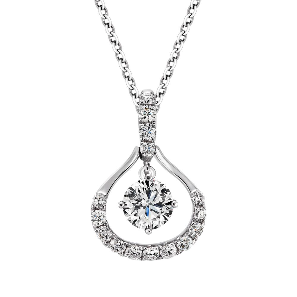 PERKINS 伯金仕-GIA Royal系列 E/SI1 0.30克拉18K鑽石項鍊