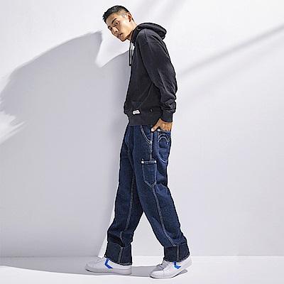 Levis Red 工裝手稿風復刻再造 男款 Stay loose復古寬鬆版繭型牛仔褲 原色 寒麻纖維