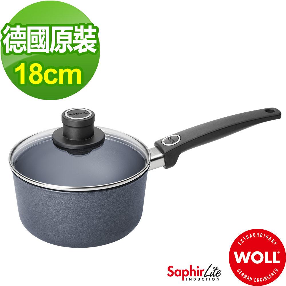德國 WOLL Saphir Lite藍寶石輕巧系列 18cm單柄牛奶鍋(含蓋)