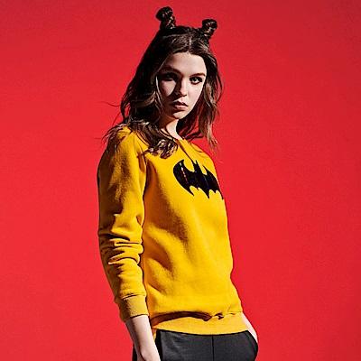 CACO-蝙蝠俠口袋衛衣-情侶款(兩色)-女【RDC027】
