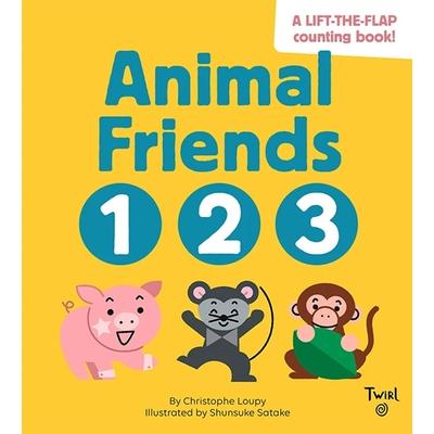 Animal Friends 123 動物朋友123數數翻翻書