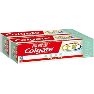 高露潔 全效牙膏 專業潔淨 (凝露) 150gX2入