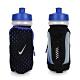 NIKE 輕量跑步手拿水壺22OZ-自行車 慢跑 運動水壺 藍黑