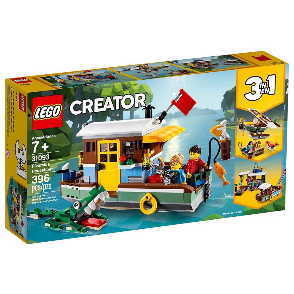 樂高LEGO 創意大師系列 - LT31093 河邊船屋