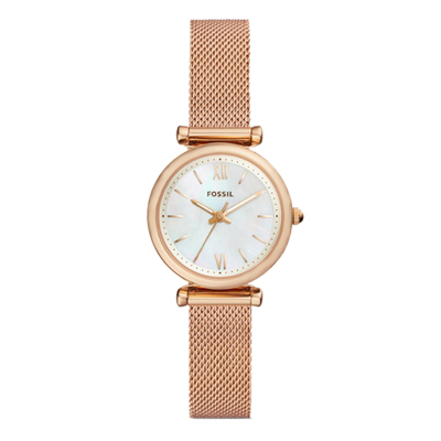 FOSSIL 羅馬珍珠貝米蘭腕錶(ES4433)-28mm