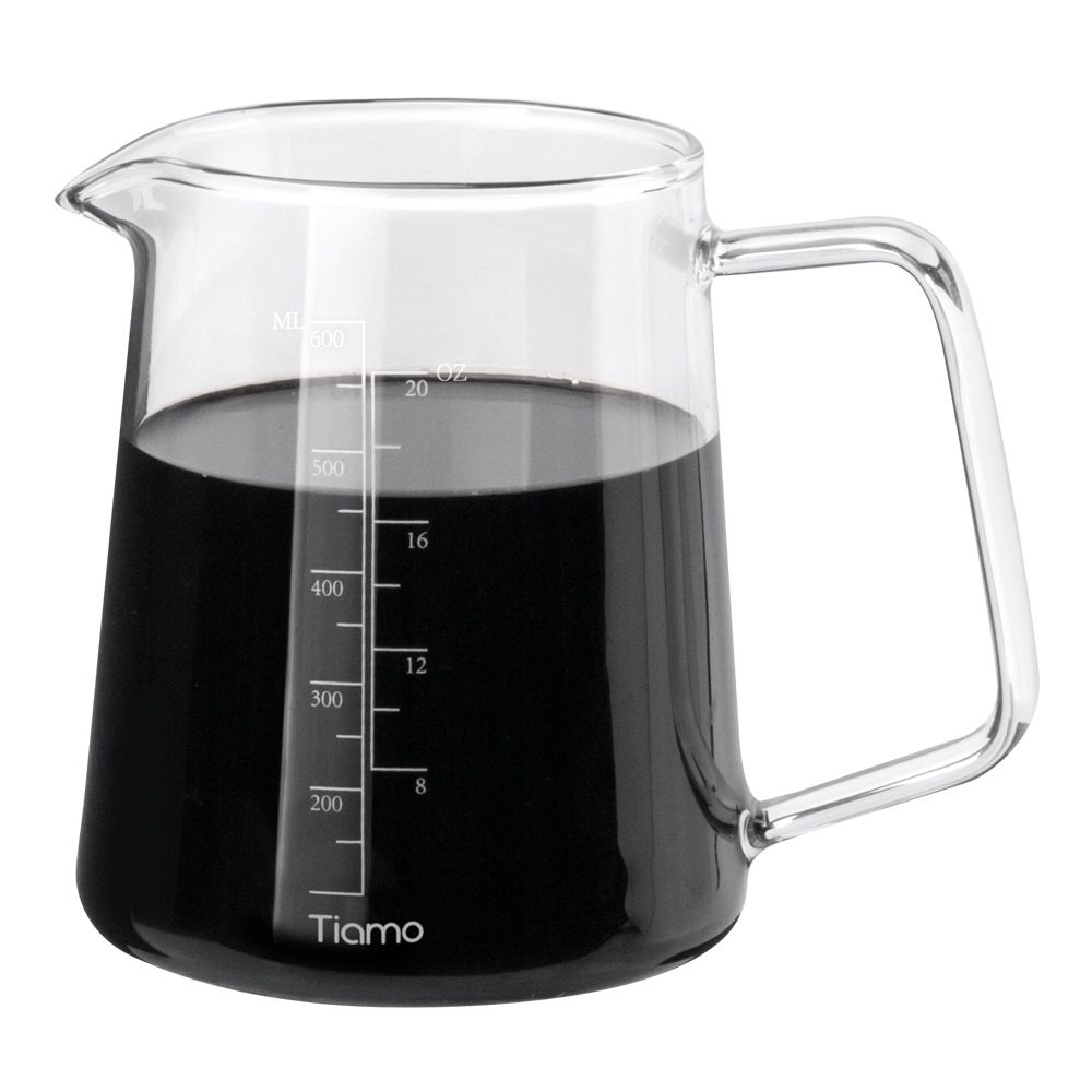 Tiamo 耐熱玻璃量杯400ml(HG2186)