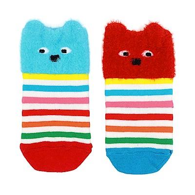 WHY AND 1/2 mini 普普熊中長襪
