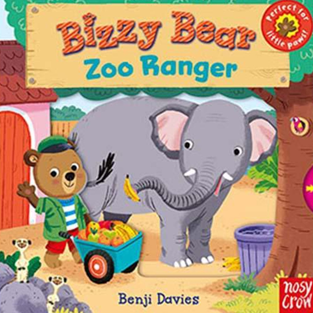 Bizzy Bear:Zoo Ranger 動物管理員熊熊新奇操作書(英國版)