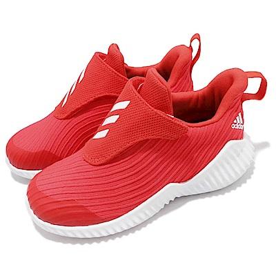 adidas 慢跑鞋 FortaRun AC 運動 童鞋