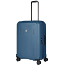 VICTORINOX瑞士維氏Werks Traveler 6.0可擴充26吋硬殼行李箱-藍