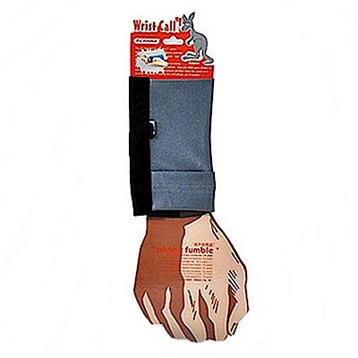 PCMAMA多用途運動手臂套手機套手腕袋手腕套Wrist Bag(黑+鐵灰WC037;可放零錢紙鈔信用卡悠遊卡一卡通)