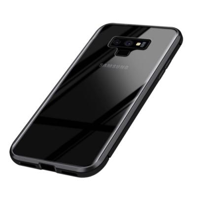 三星 Galaxy Note 9 360度全包 磁吸雙面鋼化玻璃 手機殼