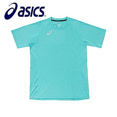 Asics 亞瑟士 男女短袖T恤 橄欖綠 K31805-52