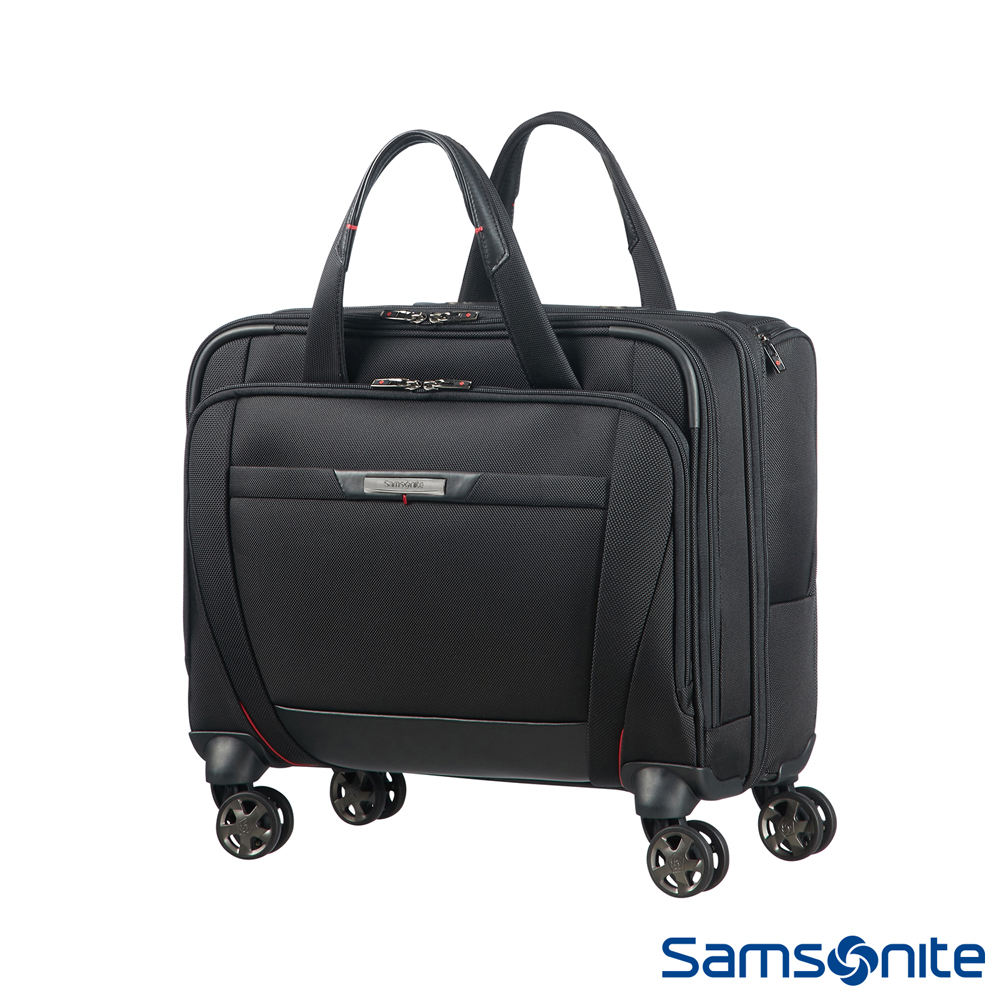 Samsonite新秀麗 Pro-DLX5商務機長登機箱15.6 (黑)