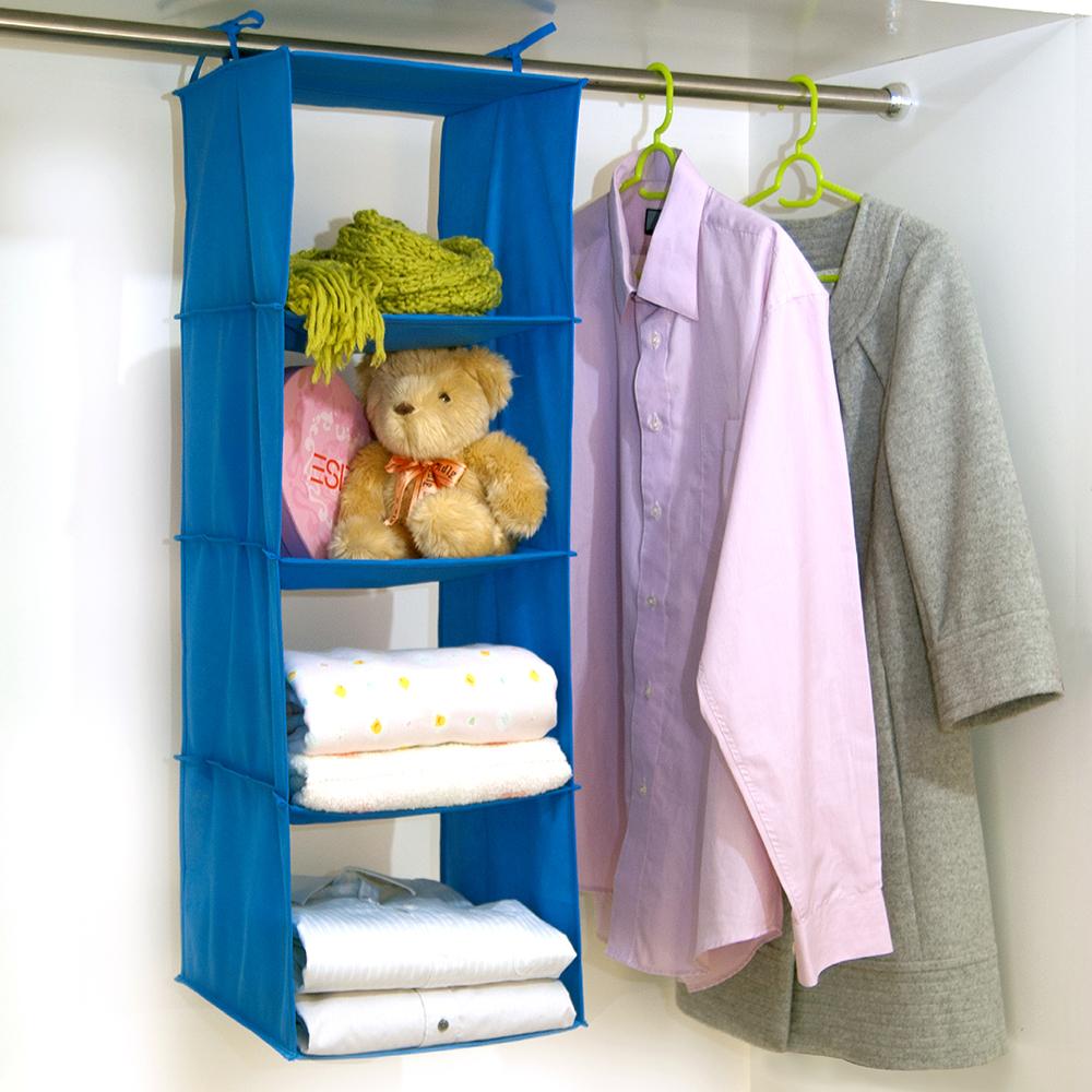【百特兔】衣櫃吊掛四層收納袋