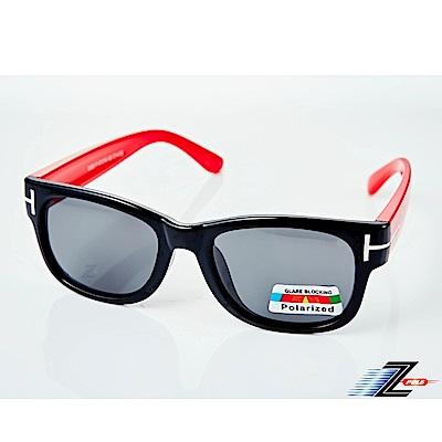 【Z-POLS】兒童專用矽膠軟質彈性壓不壞 Polarized寶麗來偏光太陽眼鏡S16