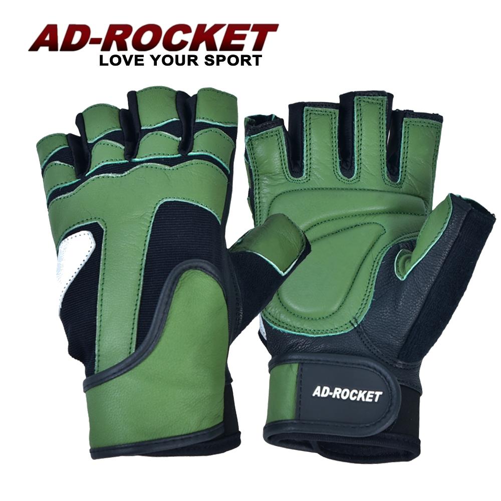 AD-ROCKET 頂級耐磨防滑透氣重訓手套(翠綠限定款)/健身手套/運動手套