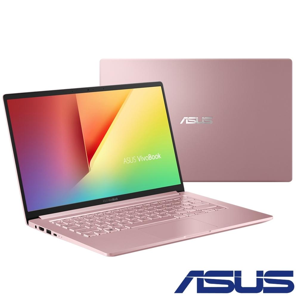 ASUS S403FA 14吋窄邊框筆電(i5-8265U/8G/512G/玫瑰金)