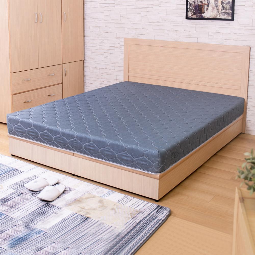 【璐易絲系列】護背特仕款-歐式緹花抗菌硬式單人3尺彈簧床墊