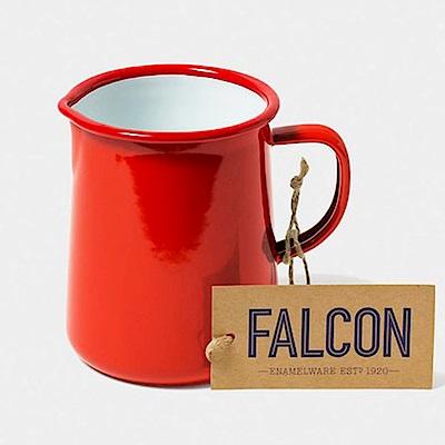 英國Falcon 獵鷹琺瑯 琺瑯1品脫冷水壺 586ml 紅白