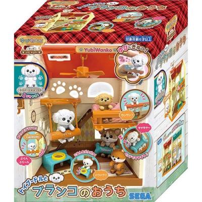 日本SEGA TOYS 拇指狗狗 鞦韆小屋_SG80183 公司貨