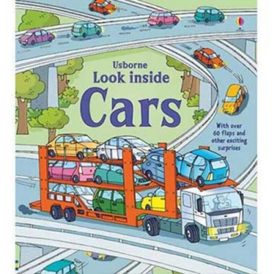 Look Inside Cars 認識汽車翻翻書