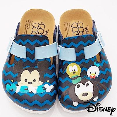 迪士尼童鞋 TSUMTSUM涼鞋款 FO18809藍(中小童段)