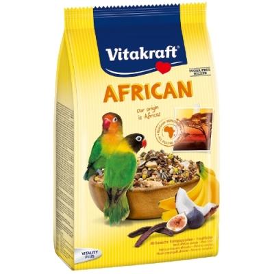 德國Vitakraft Vita-中小型鸚鵡-非洲鸚鵡總匯美食系列(21641) 750g 兩包組